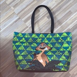 Danielle Nicole 2 in 1 lion king large tote bag!